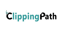 Clipping path company logo