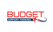 Budget airport parking logo