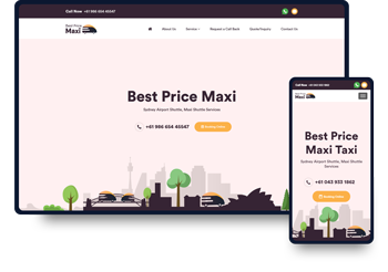 Best Price Maxi Website Design & Development