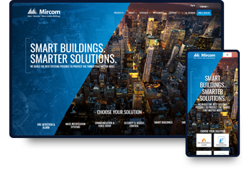 Website Design & Development for Mircom