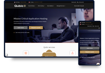 Qubic Webstie Design