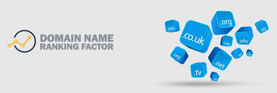 Domain name ranking factors