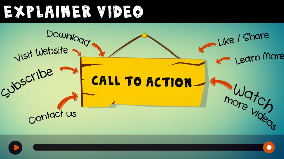 Explainer Video Call to Action