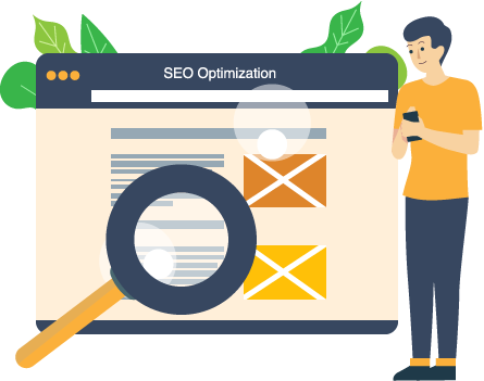 We offer on page seo optimization with the best practice.