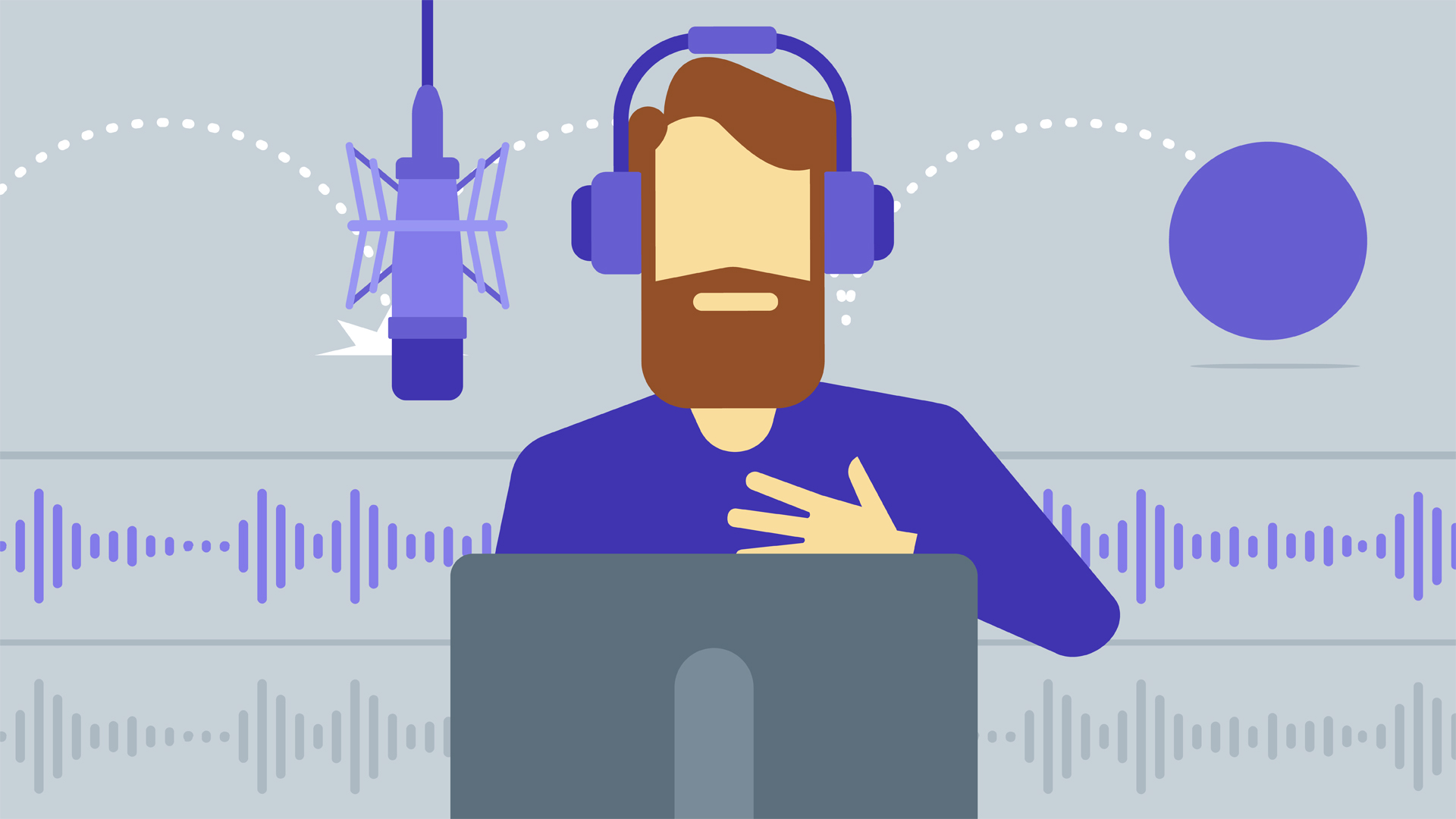 Use Professional Voice for Create Explainer Video