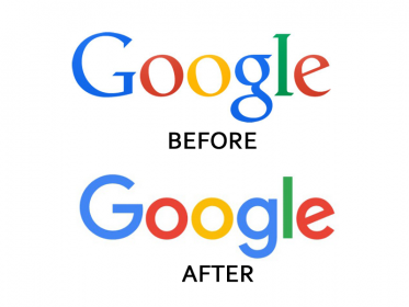Check how google change its logo over the time