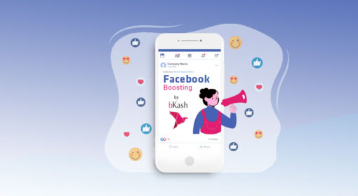 Best Digital Marketing Agency for Facebook Page post boost by bKash